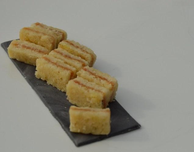 """sandwiches"": salted caramel shortbread!"