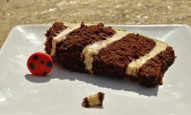 inside the cake!