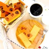 gold bar cotton cake (cooked dough method) 金当当黄金棉花蛋糕