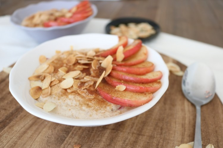 Bratapfel Porridge // Roasted Apple Porridge