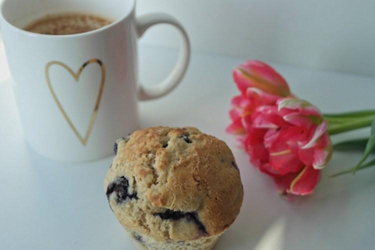Blaubeer Muffins – die gesunde Variante