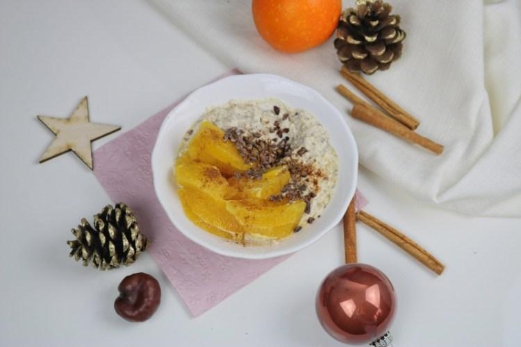 Winter Porridge – Zimtiges Porridge mit Orange und Maca*