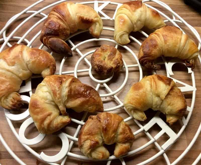 Making Croissants - my batch of croissants