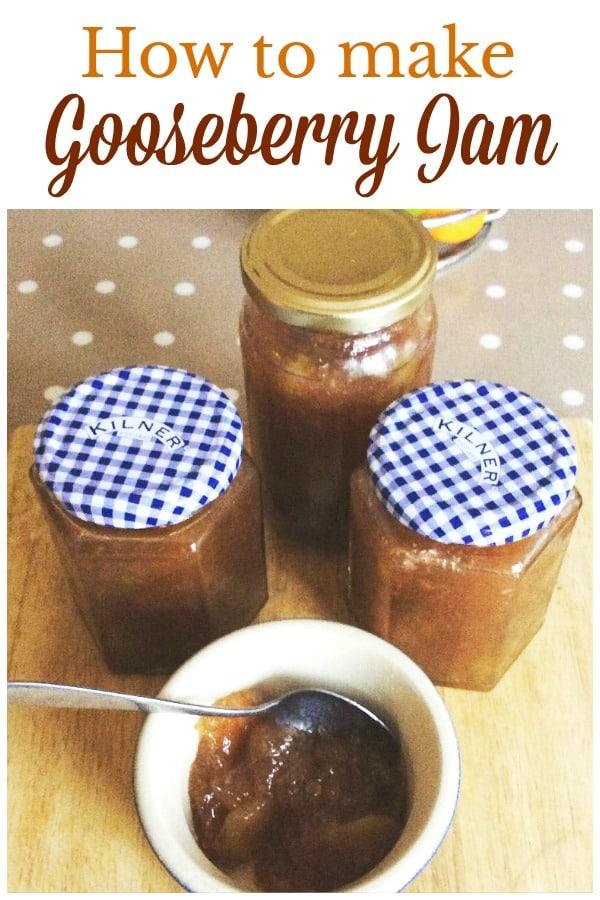 Make your own gooseberry jam