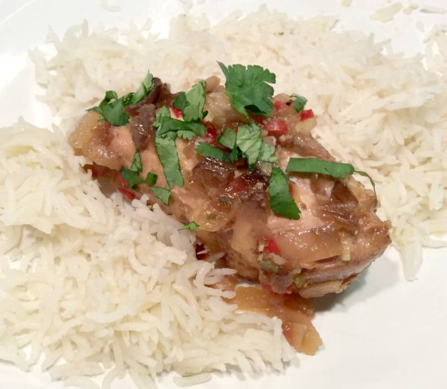 Slow Cooker Chilli and Lime Chicken