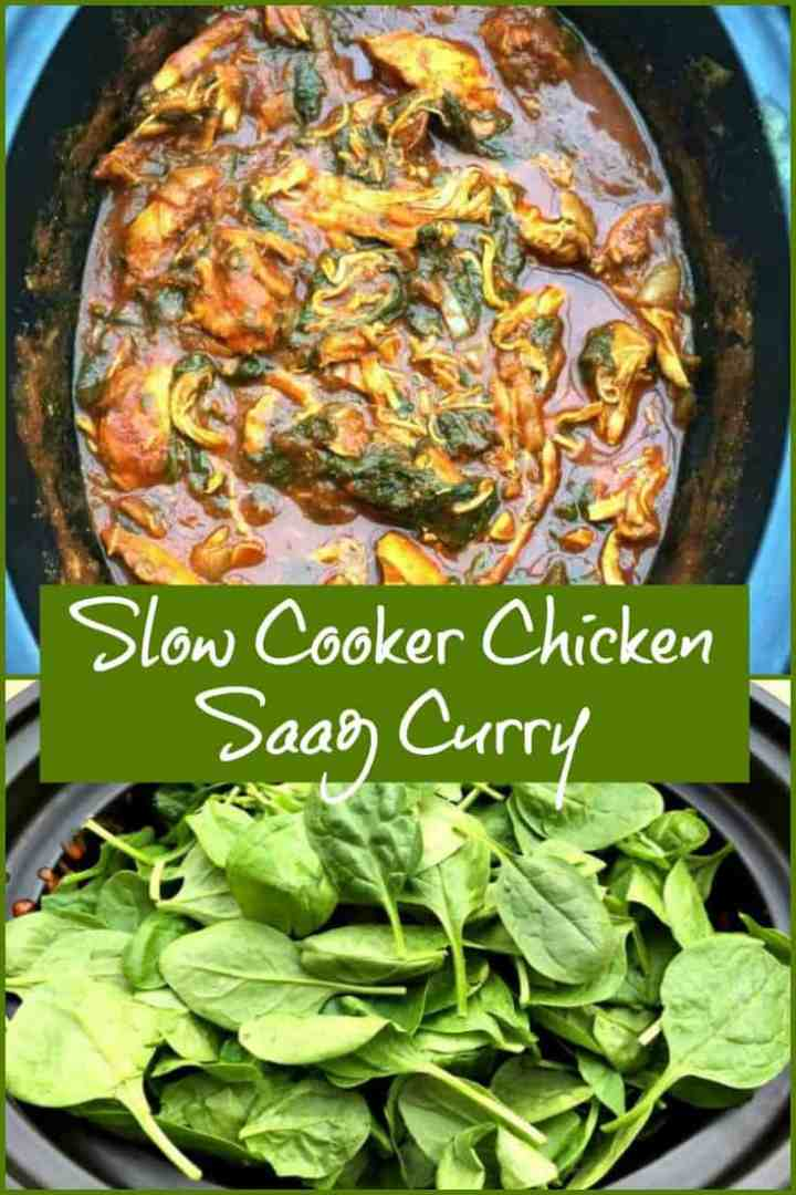 Slow Cooker Chicken Saag Curry Recipe