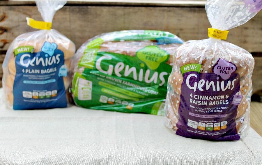 Genius Gluten Free Bread and Bagels