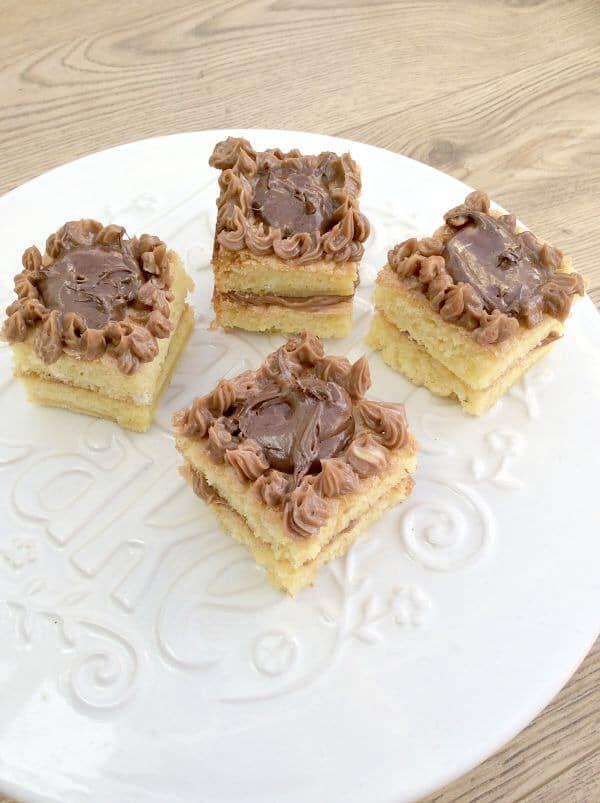 Marshmallow fluff chocolatines - my 2015 GBBO bakes