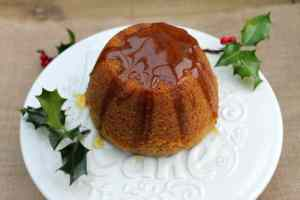 Slow Cooker Gingerbread Pudding
