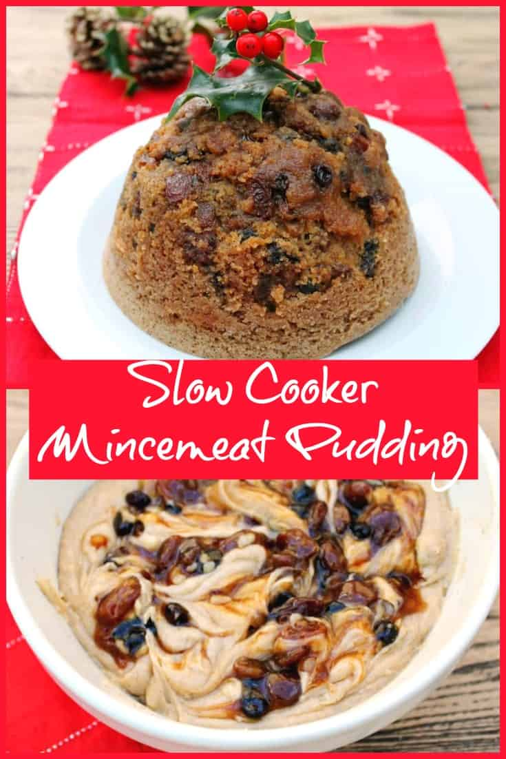 Slow Cooker Mincemeat Pudding recipe
