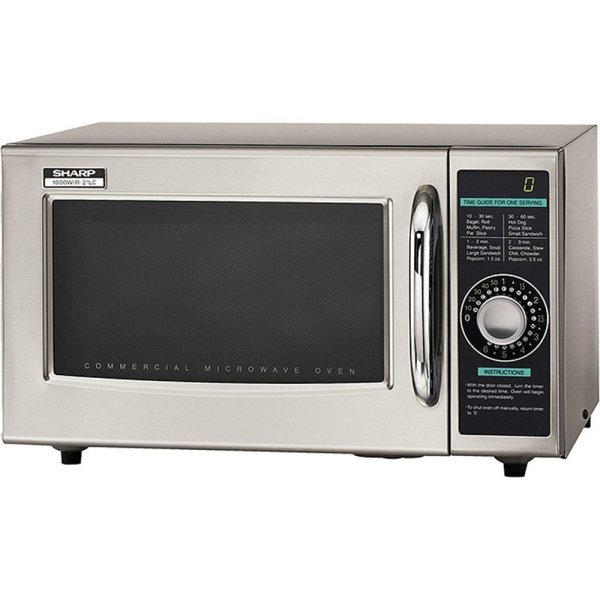 Sharp -21lcf Commercial Microwave Oven Dial 1000 Watts
