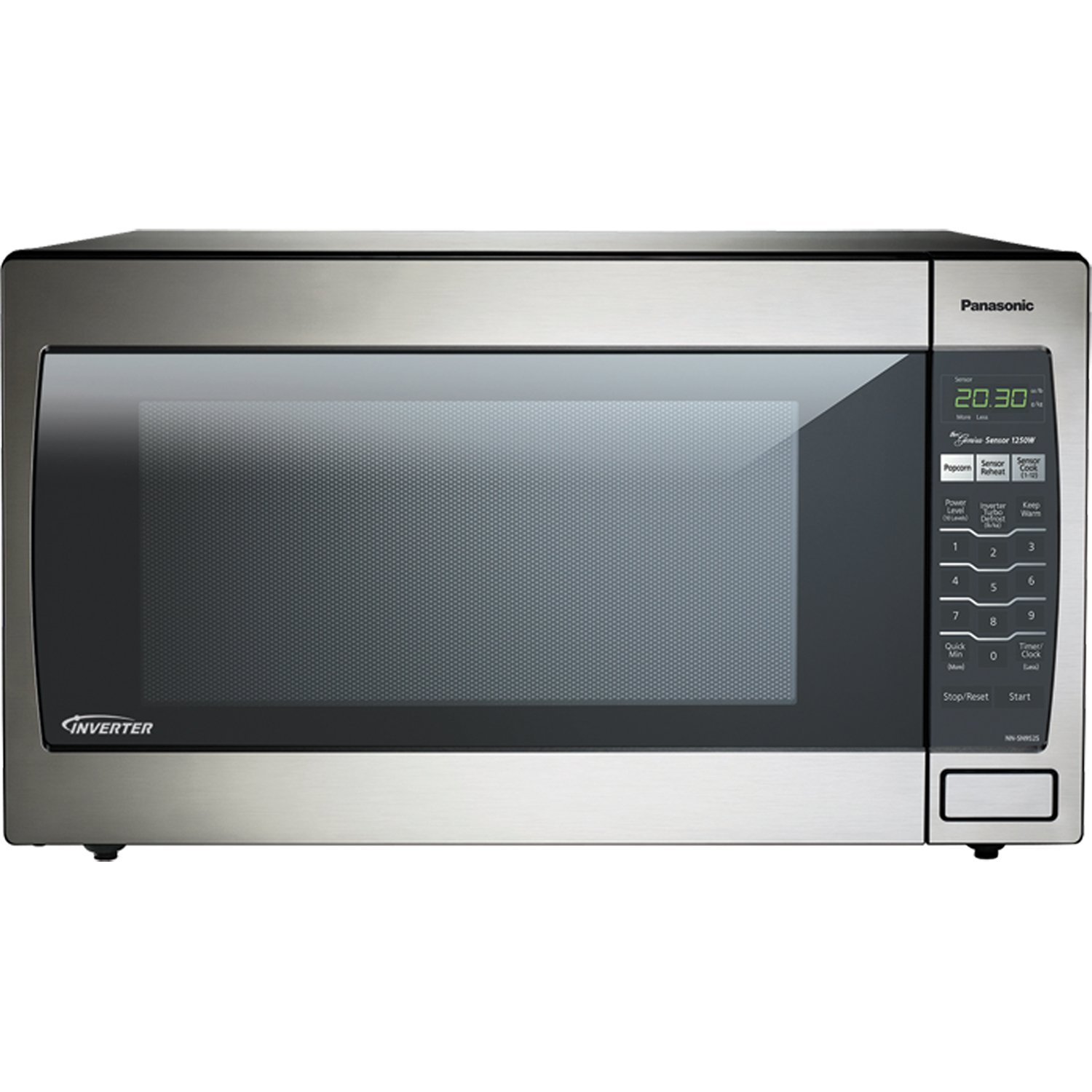 Panasonic NN-SN952S Stainless 1250W 2.2 Cu. Ft. Countertop Microwave Oven with Inverter Technology