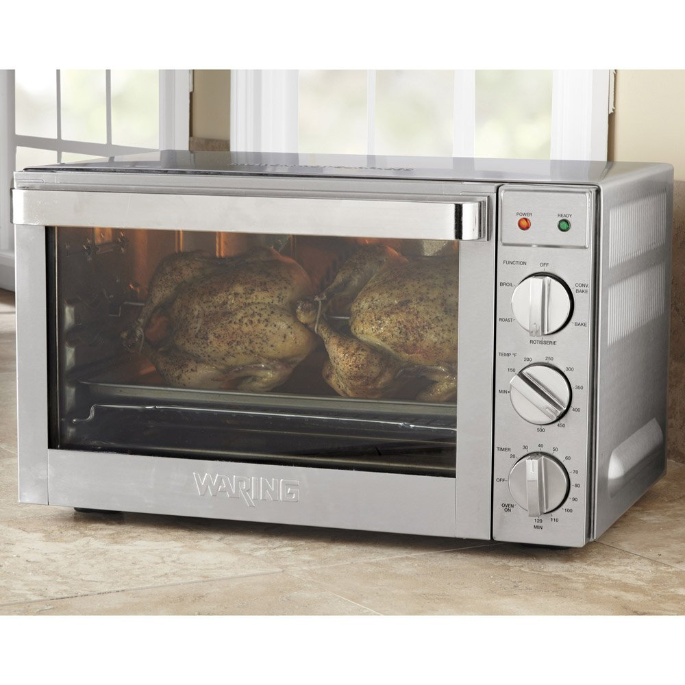 Waring Pro CO1600WR Convection Oven, 1.5 Cubic Feet