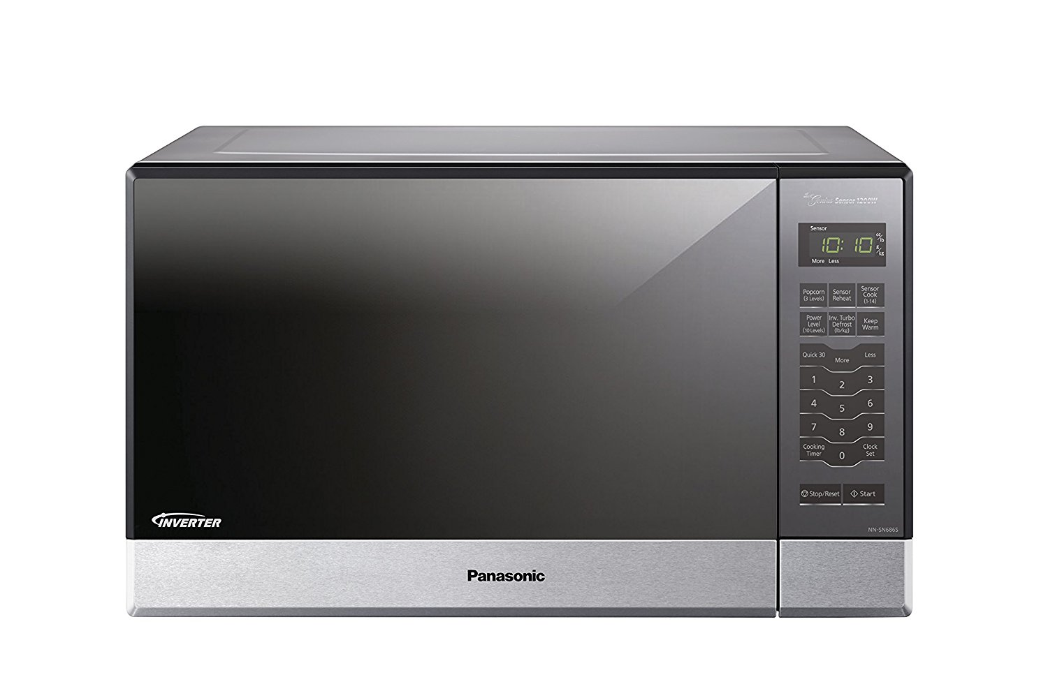 Panasonic NN-SN686S Countertop/Built-In Microwave with Inverter Technology, 1.2 cu. ft. , Stainless