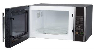 large interior of this magic chef microwave oven