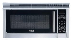 otr stainless steel RCA RMW1112 1.1 Cubic Feet Microwave Oven