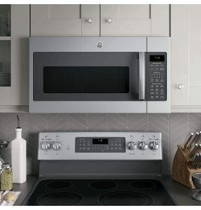 see how your ge microwave looks in your kitchen interior