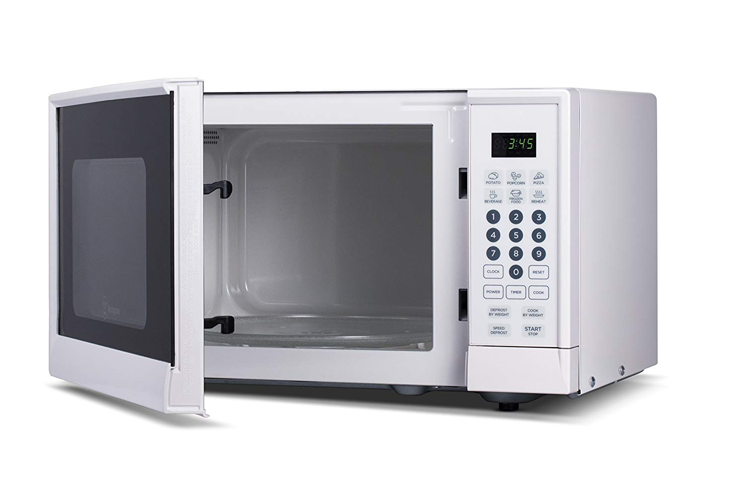 Westinghouse WCM990W 0.9 Cubic Feet 900 Watt Counter Top Microwave Oven