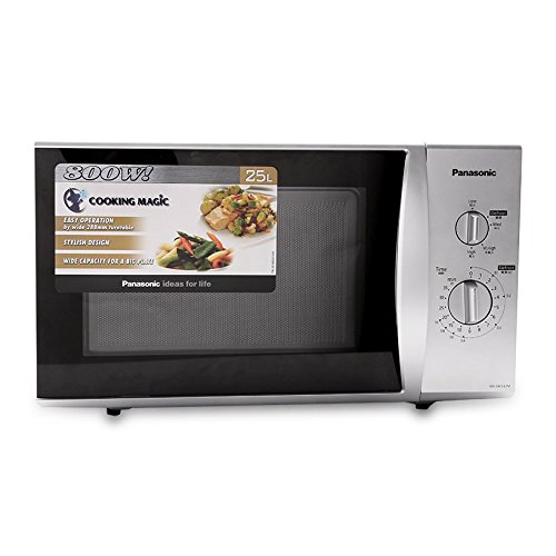 Panasonic NN-SM33H 25-Liter 800W Microwave Oven, 220 Volts (Not for USA)