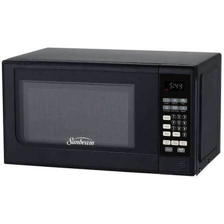 Sunbeam 0.7 cu ft Digital Microwave, Output Power: 700W, 10 Power Levels Setting