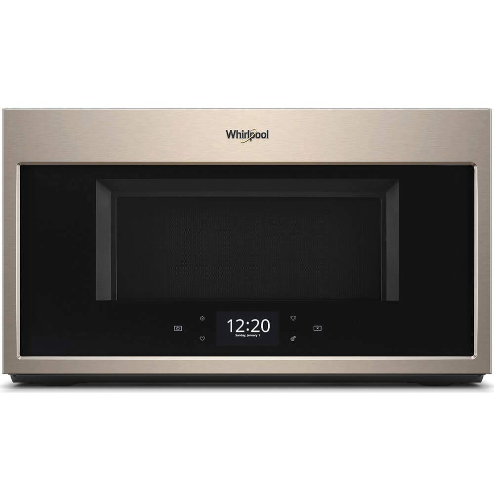 Whirlpool WMHA9019HN 1.9 Cu. Ft. Sunset Bronze Over-The-Range Microwave