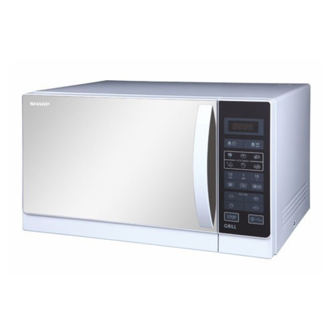 Sharp R-75MT(S) Microwave Oven with Grill, 220-volt