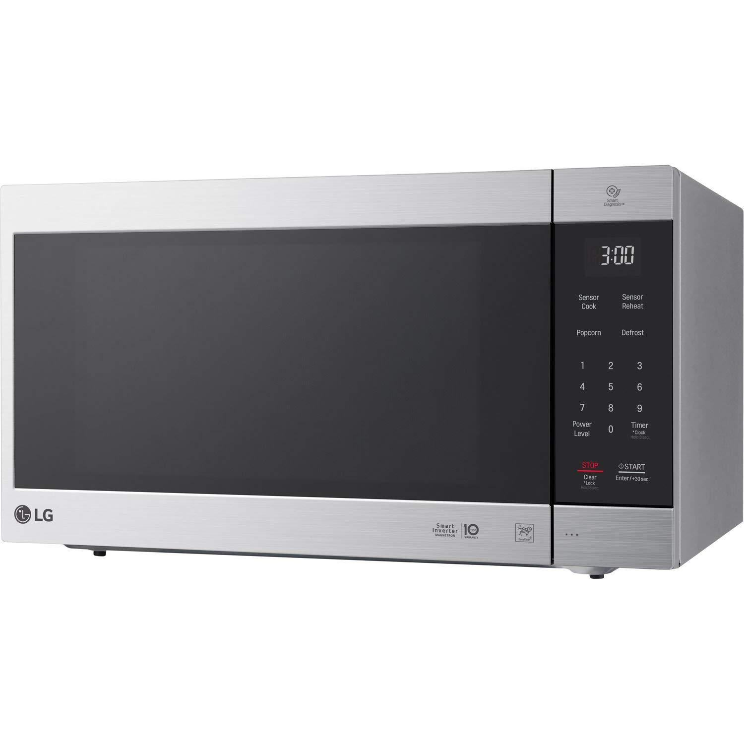 LG 2.0 Cu. Ft. NeoChef Countertop Microwave (LMC2075) Stainless Steel – New