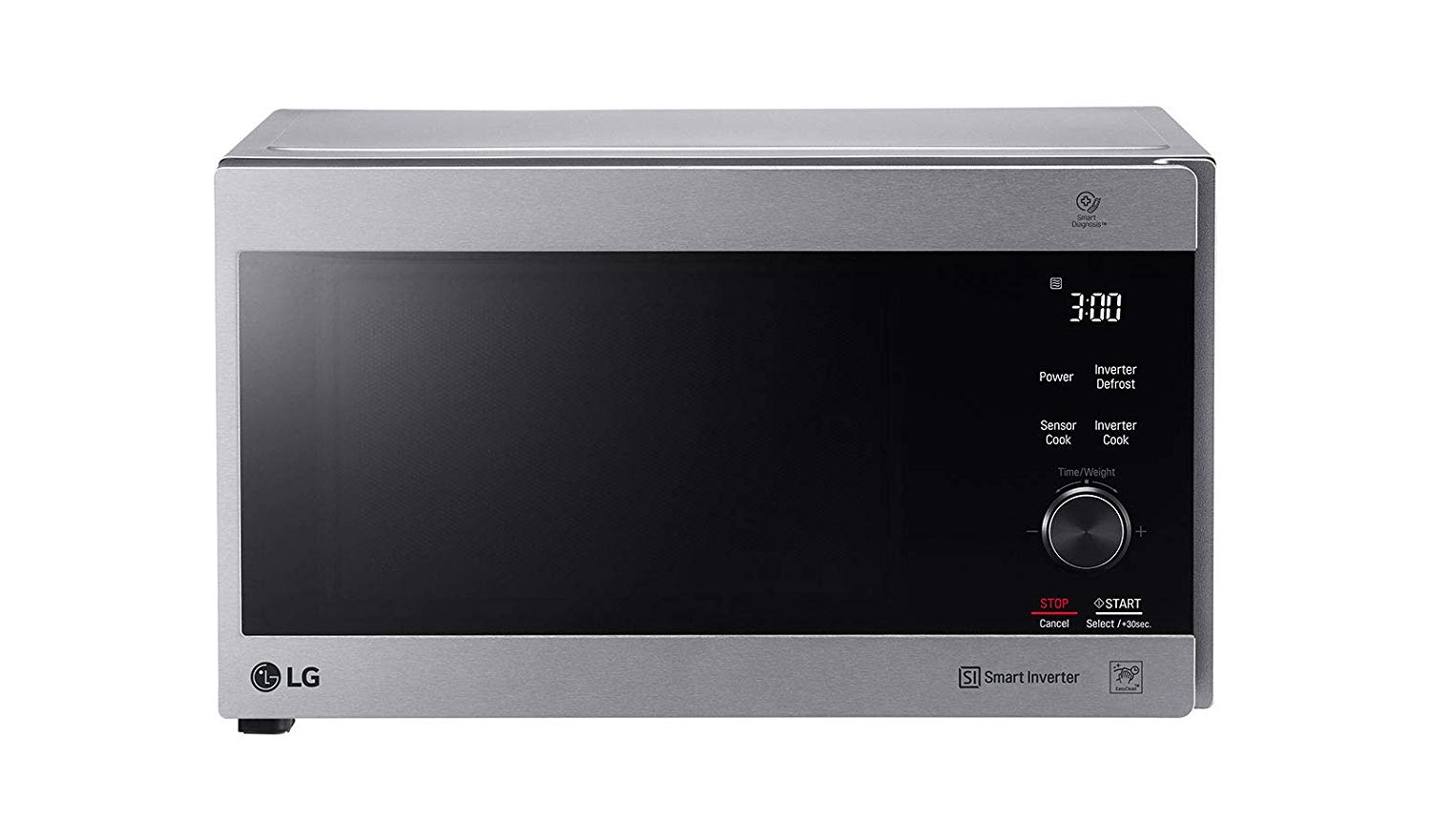 LG MH8265CIS NeoChef Smart Inverter Microwave Oven w/Grill, 220V (Not for USA) 42-Liter Silver