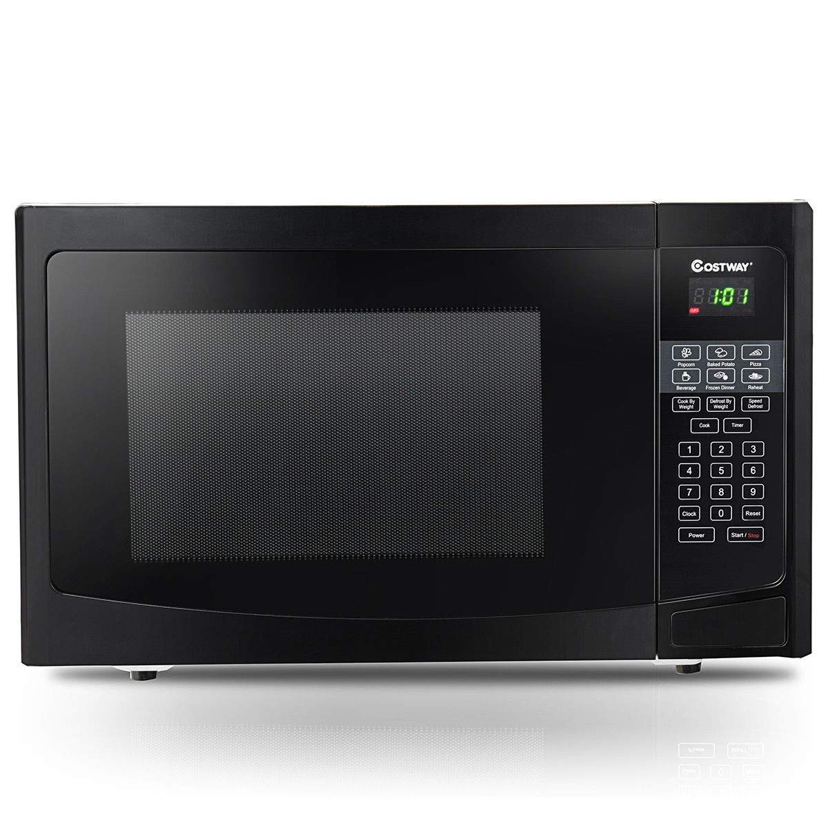CHOOSEandBUY 1.1 cu ft Programmable Microwave Oven 1000W LED Display New Perfect Beautiful Classic Elegant Useful