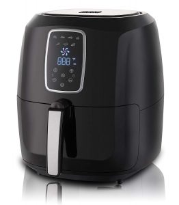 Emerald Electric Air Fryer with LED Touch Display- 5.2L Capacity