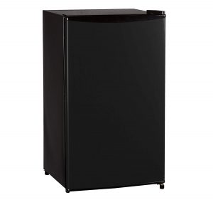 Midea WHS-121LB1 Compact Single Reversible Door Refrigerator and Freezer