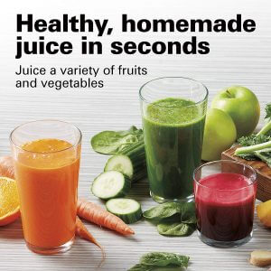get healthy and home made juice in seconds