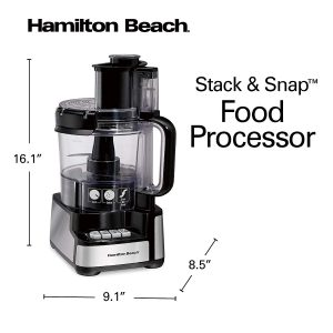 stack and snap food processor