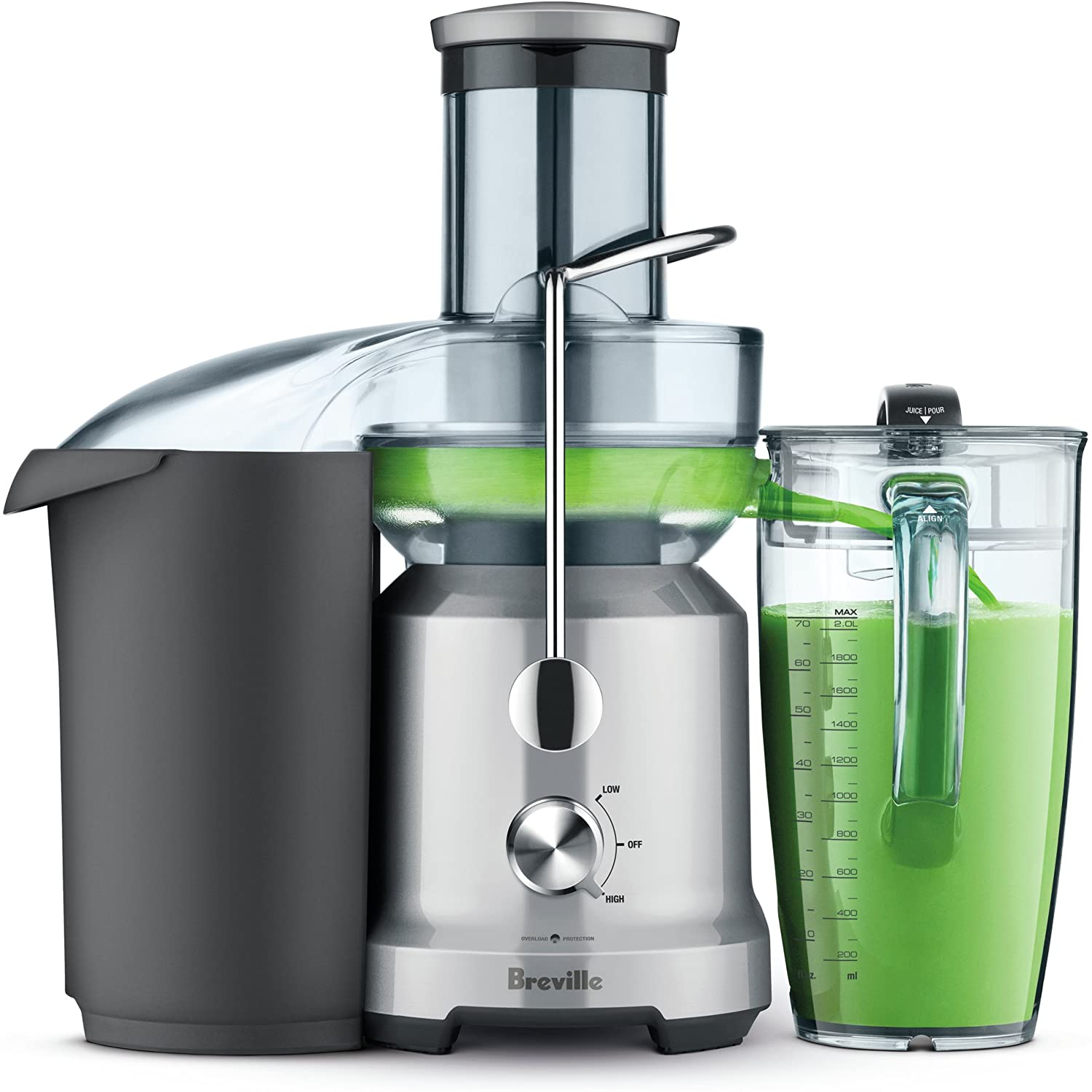 Breville BJE430SIL Juice Fountain Cold Centrifugal Juicer