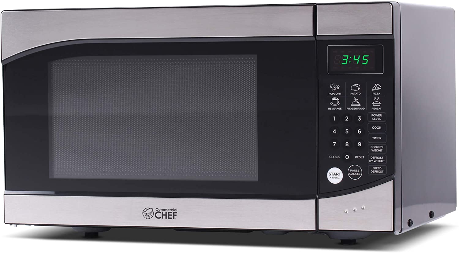 Commercial Chef CHM009 900 Watt Microwave 0.9 cu. ft.