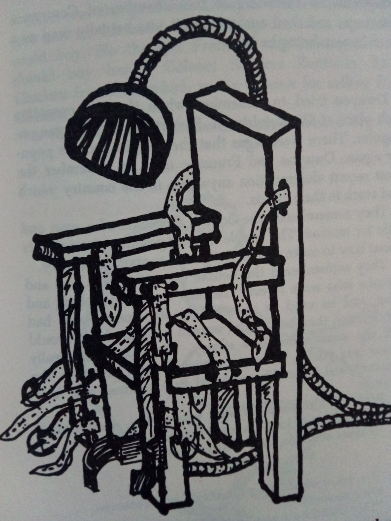 The Electric Chair - Breakfast of Champions by Kurt Vonnegut