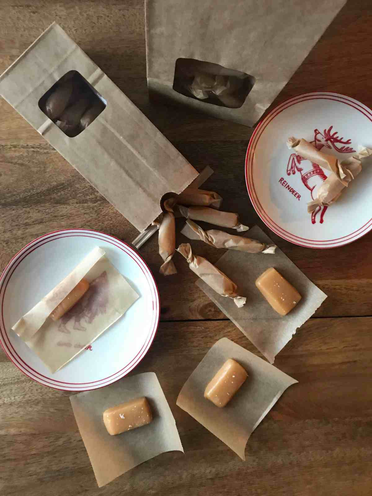 Edible Christmas Gifts: Salted Caramels