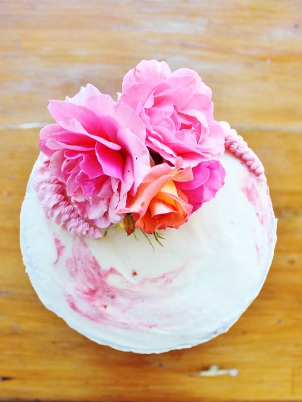 Decorating Cake With Fresh Flowers Baking Gab