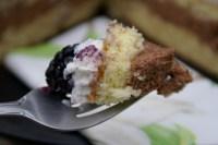 Chocolate Mousse-Blackberry Birthday Cake |