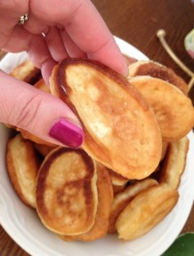 Bosnian Pancakes {Ustipci}
