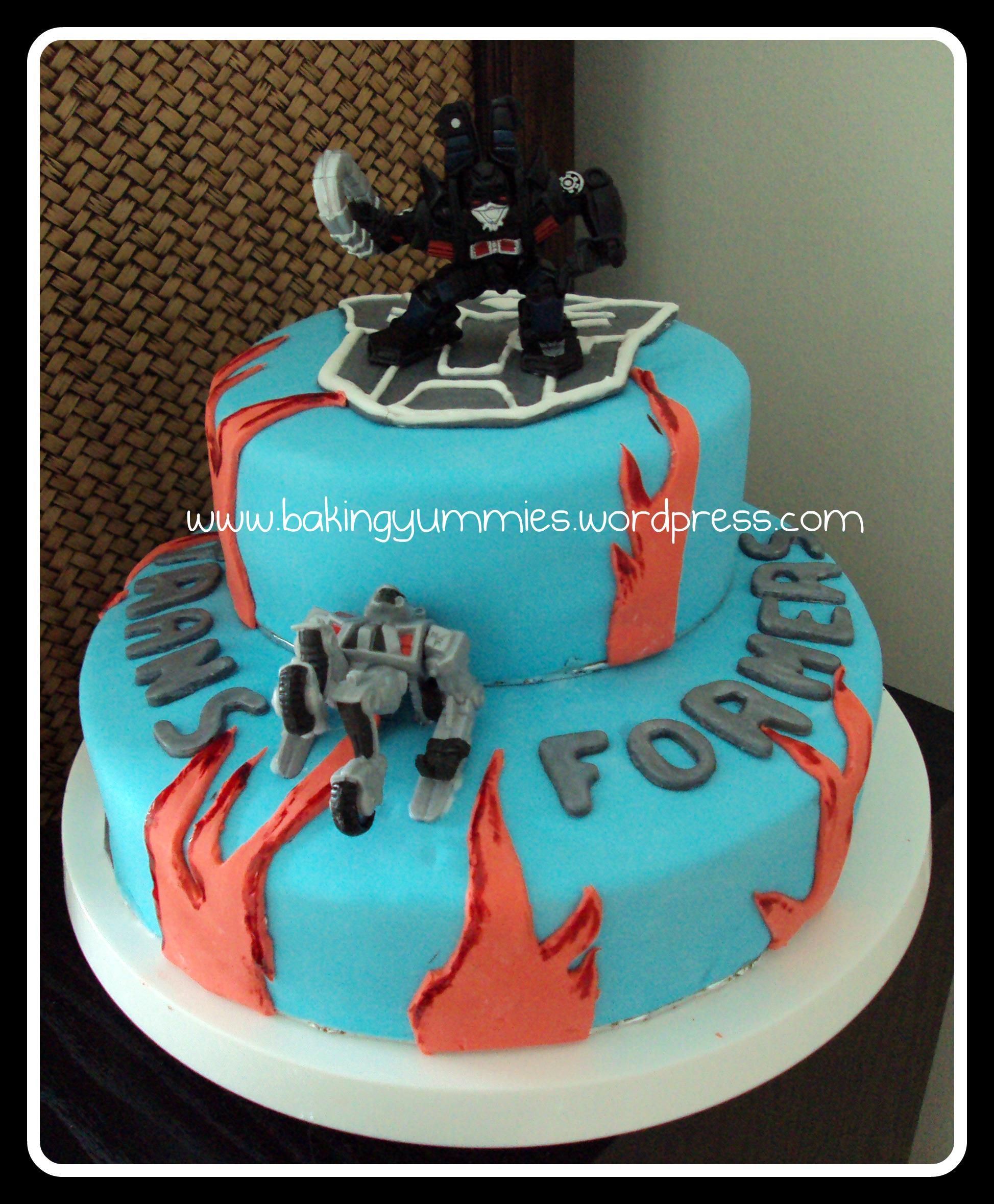 Transformers Cake Cake Ideas And Designs