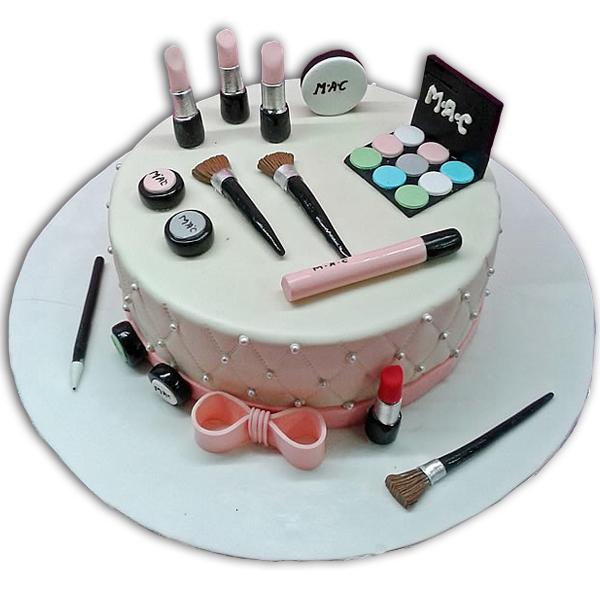 Amazing Girls Makeup cake ideas in Lahore, Free Delivery