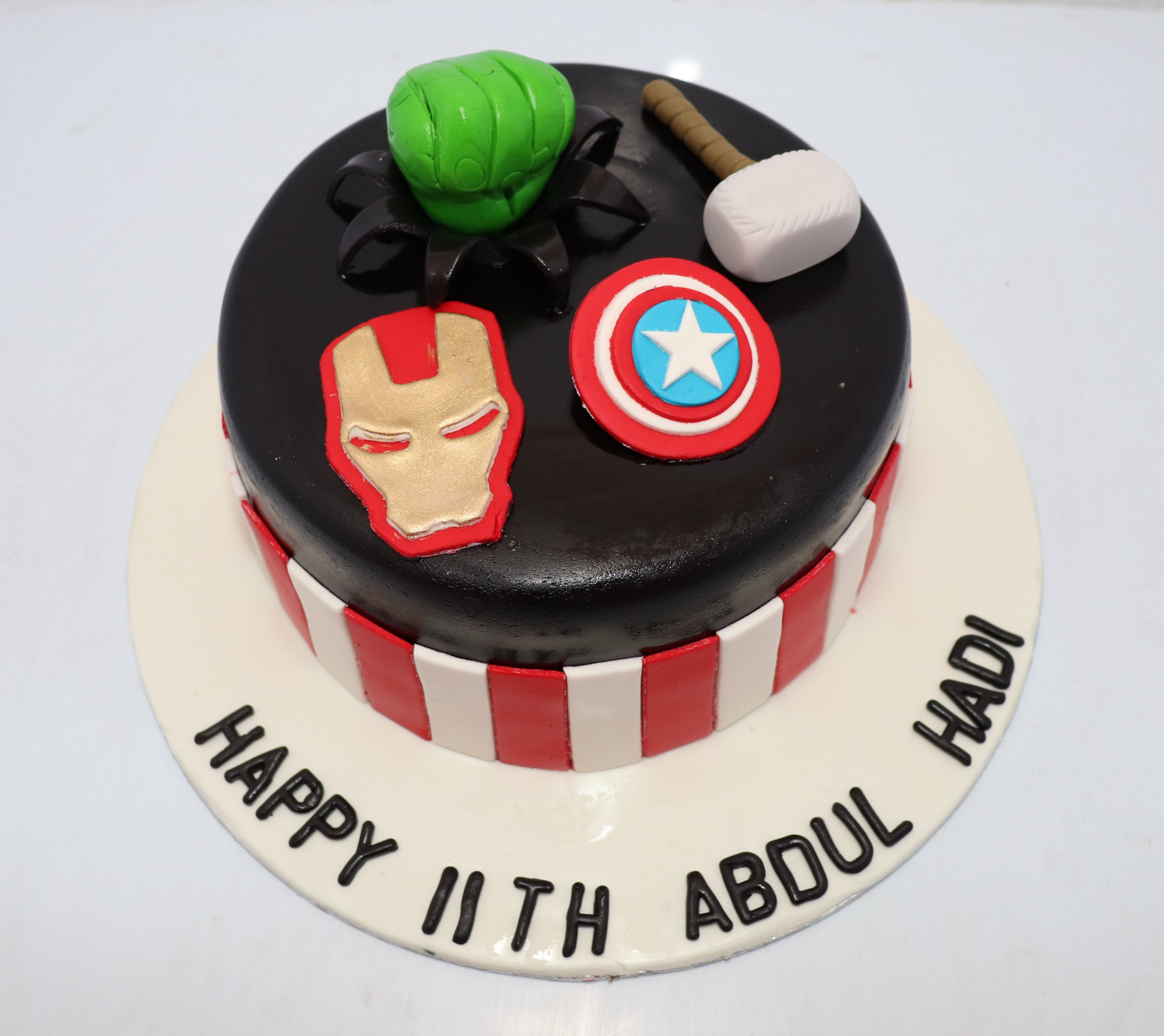 Excellent Superhero Birthday Cake Online Gifts For Husband In Pakistan Personalised Birthday Cards Bromeletsinfo