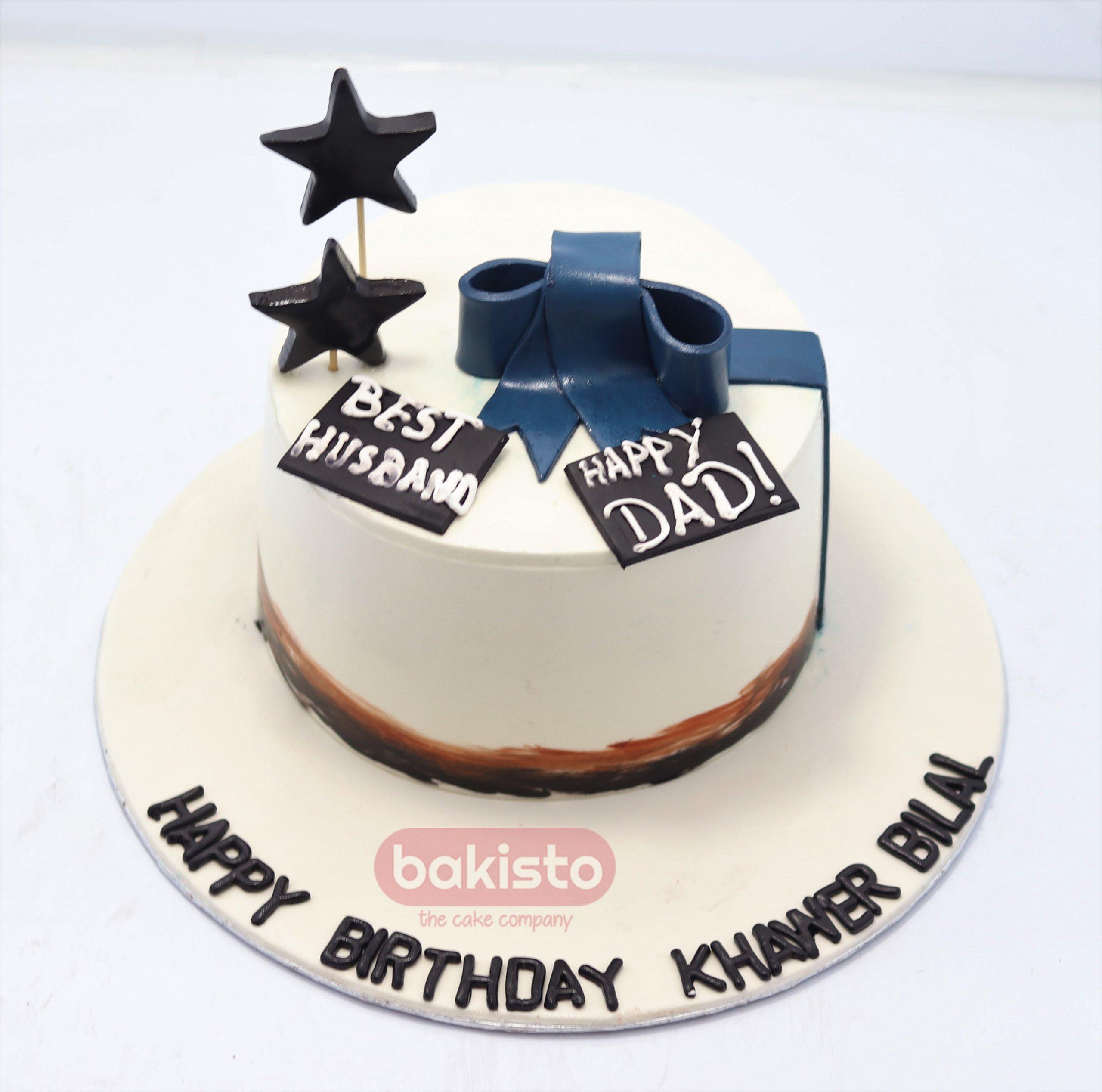 Husband Cake Customization Expert In Lahore Bakisto