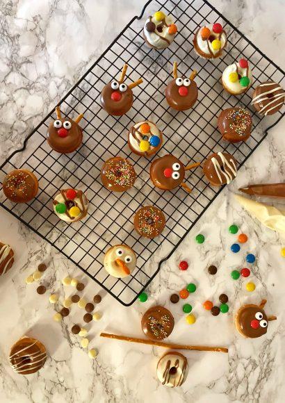 Thumbnail for Mini kerst donuts