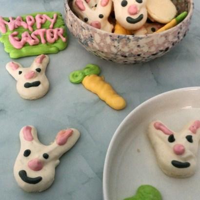 Paashaas Meringue - schuimpjes bakken voor Pasen