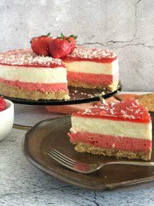 Cheesecake Aardbeien - BakkenMetLisanne