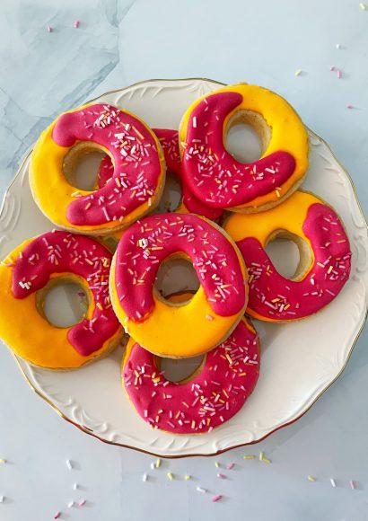 Thumbnail for Donut koekjes met Royal Icing