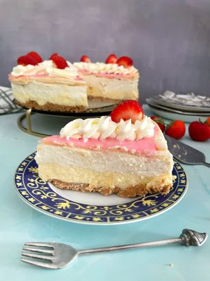 Tompouce Cheesecake