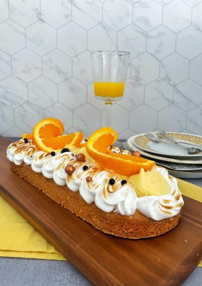 Thumbnail for Sinaasappelslof met Italiaanse Meringue
